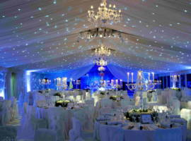 Marquee-Winter-Wonderland-with-blue-screen-lighting-and-fairylights-270x200