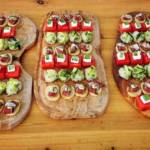 Mixed canapes 3 - Toms Kitchen